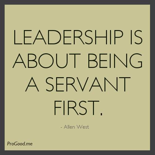 Leadership Servant